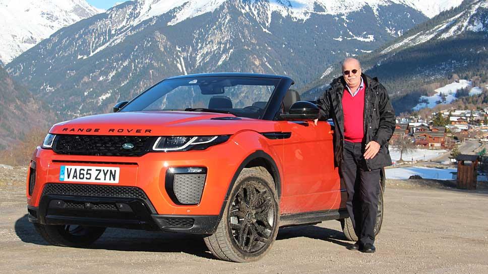 Forschungs- und Technologie-Direktor Wolfgang Epple von Jaguar Land Rover