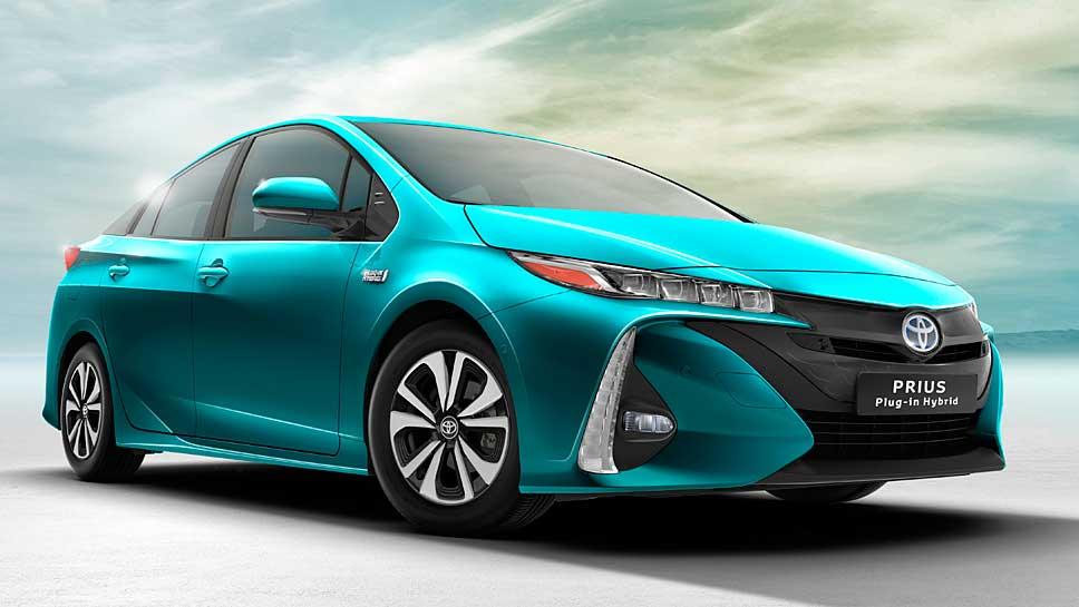 Toyota bringt den Toyota Prius auch als Plugin-Hybrid.