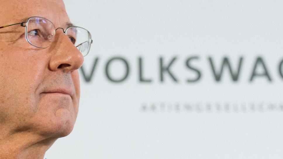 VW-Aufsichtsratschef Hans Dieter Pötsch.