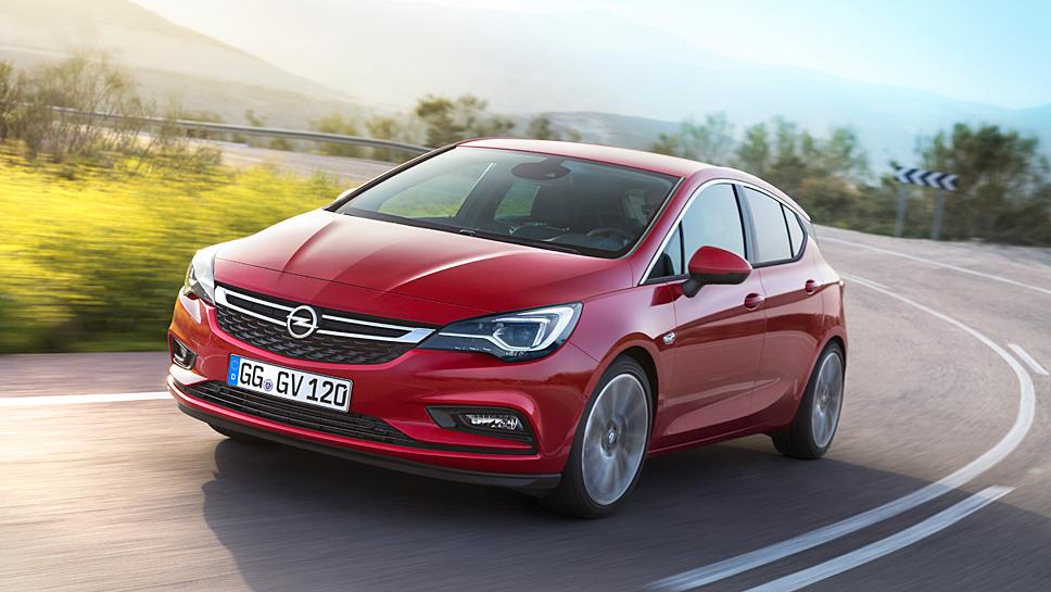 Der Opel Astra kommt auf einen guten Restwert.