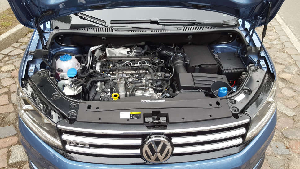 VW Caddy Motor