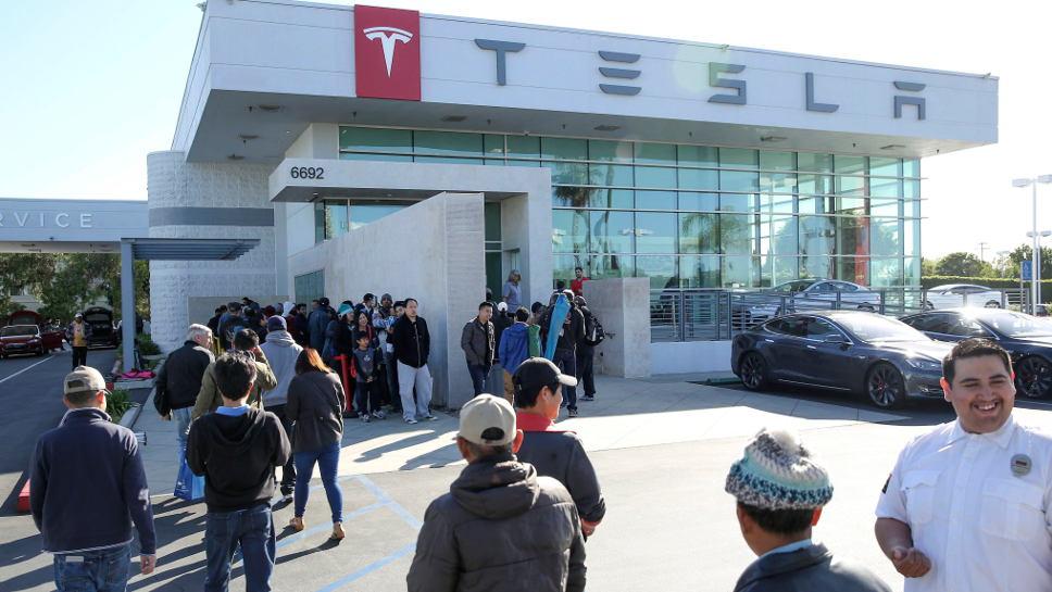 Tesla Kalifornien Modell 3