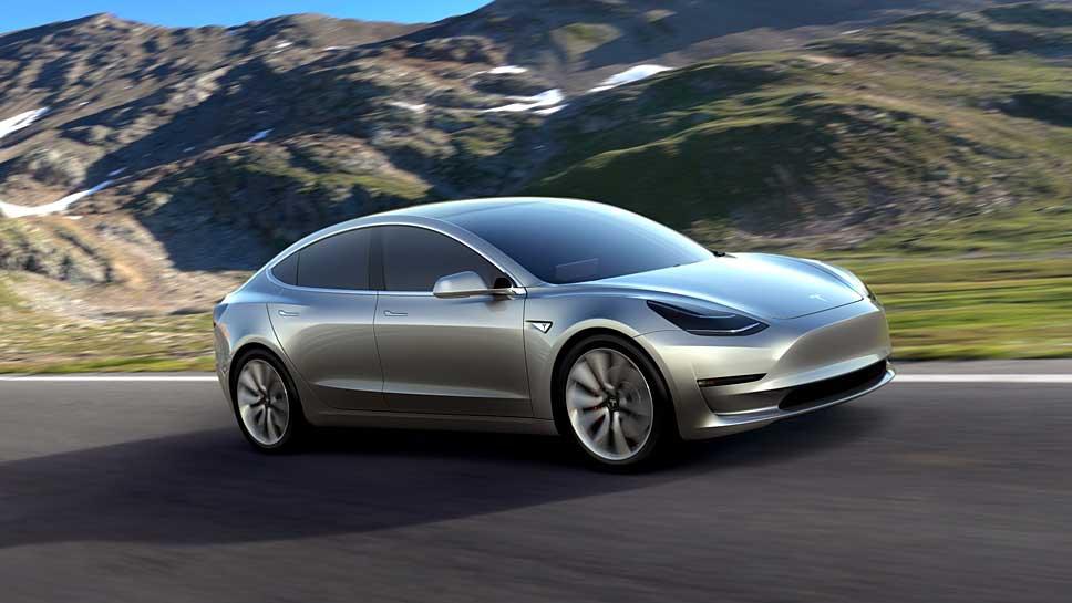 Tesla hat Probleme bei der Produktion des Model 3.