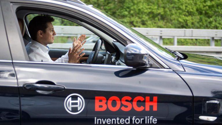 Bosch steuert autonome Fahrzeuge mit künstlicher Intelligenz