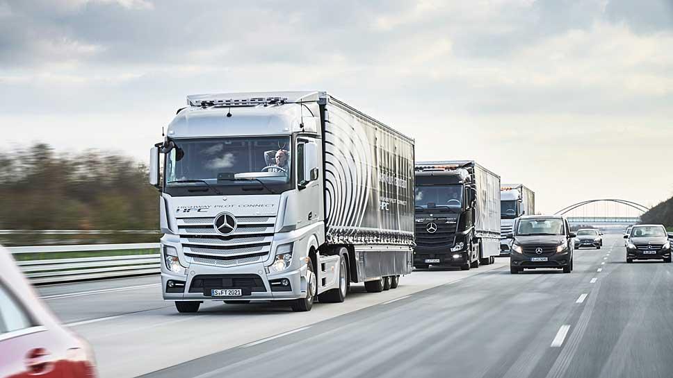 smart trucks erreichen rotterdam. Black Bedroom Furniture Sets. Home Design Ideas
