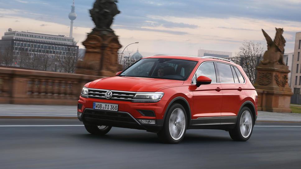 Der neue Tiguan soll VW im zweiten Halbjahr weiter aus der Krise fahren