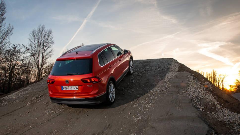 Der Tiguan soll VW in höhere Sphären führen