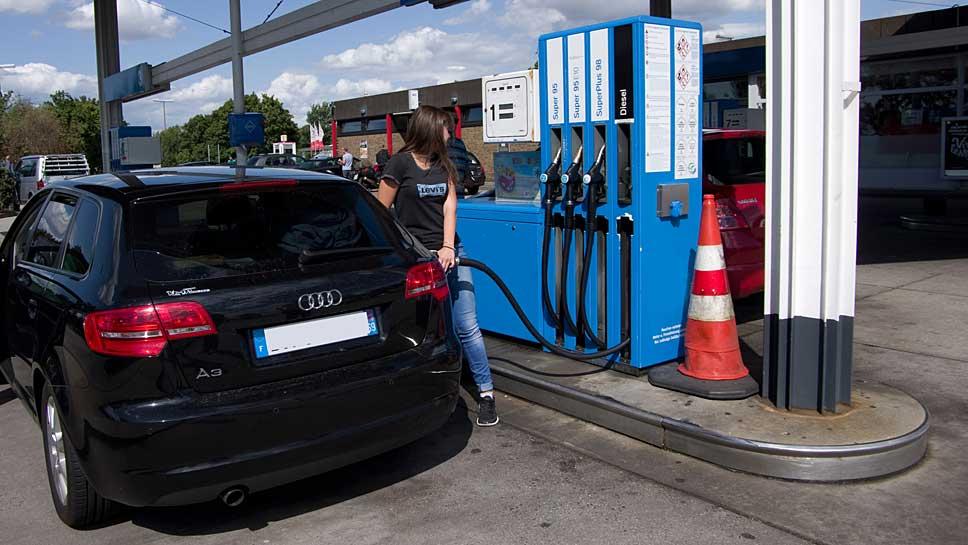 Die Kraftstoffpreise steigen weiter an