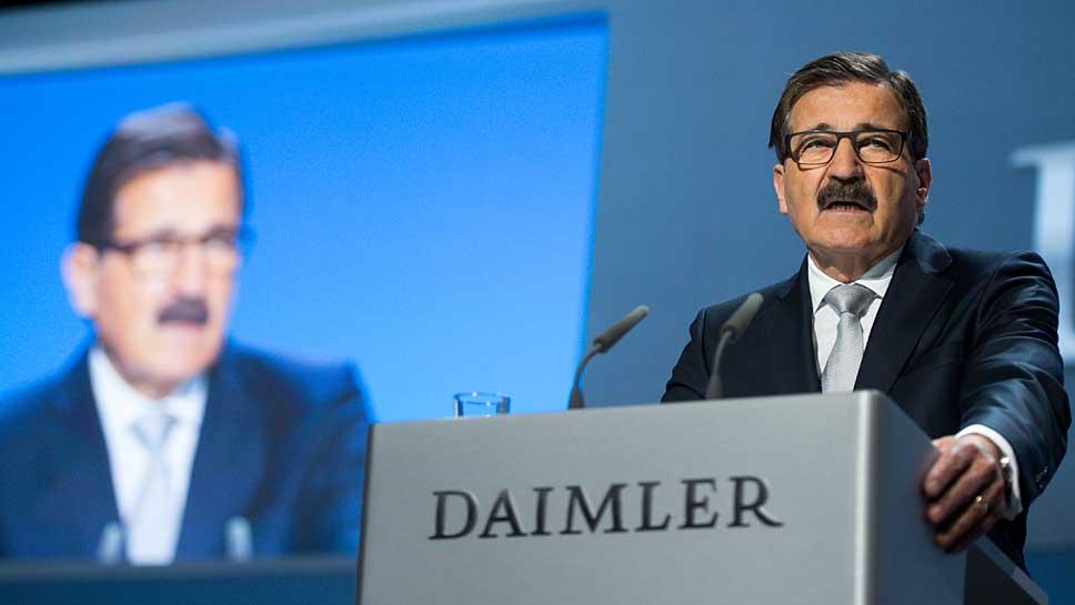 Der Daimler-Aufsichtsratsvorsitzende Manfred Bischoff gab sich diplomatisch.