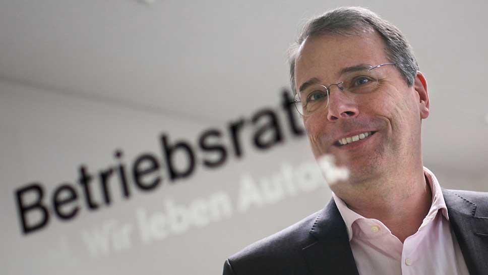 Opel-Betriebsratschef Wolfgang Schäfer-Klug.