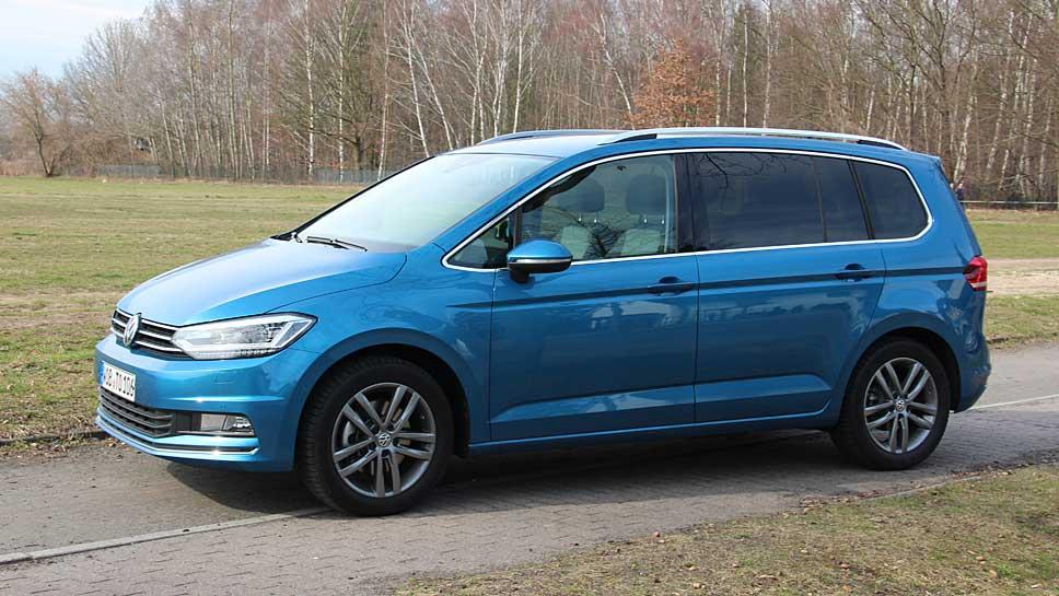 Der VW Touran kann mehr als nur Biedermann