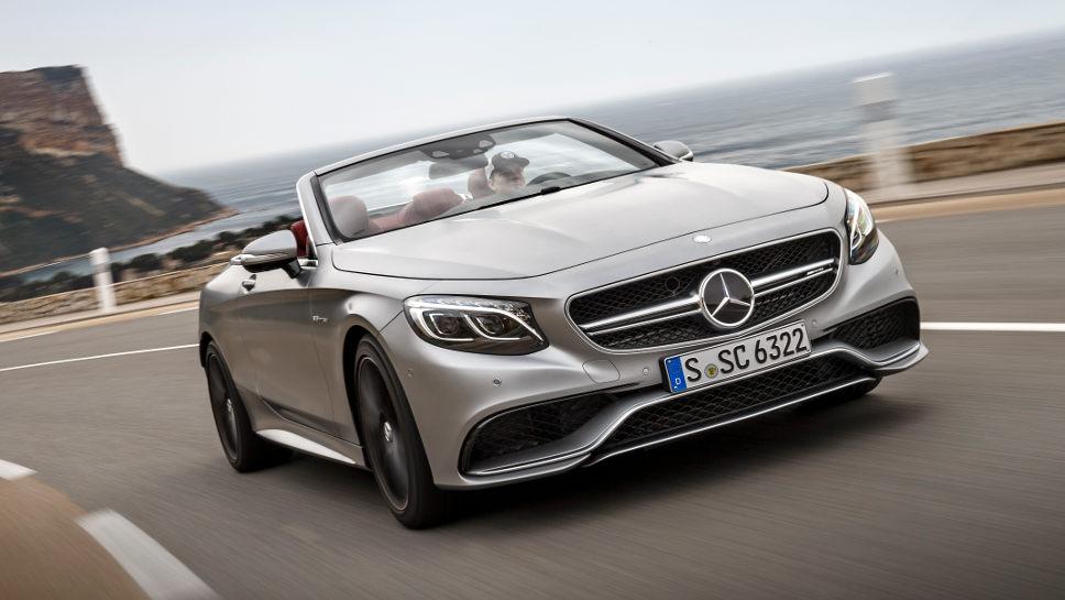 Elegant und sportlich - das Mercedes S 63 AMG Cabrio.