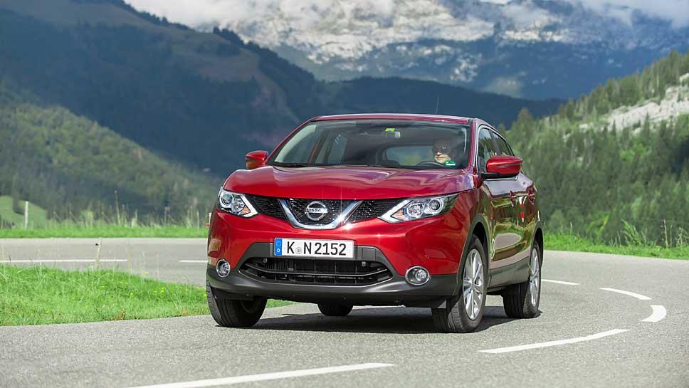 Der Nissan Qashqai wurde über 250.000 Mal in Westeuropa verkauft.