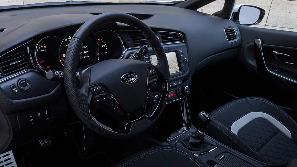Der Kia Ceed GT Line verspricht optisch mehr als er halten kann.
