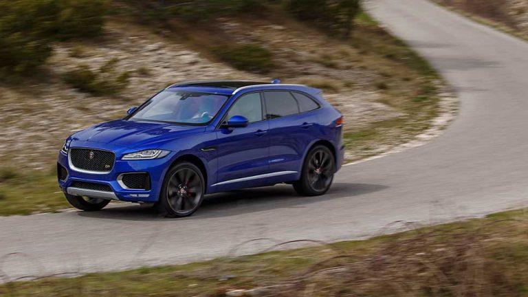 Jaguar F-Pace: Premiere auf Augenhöhe