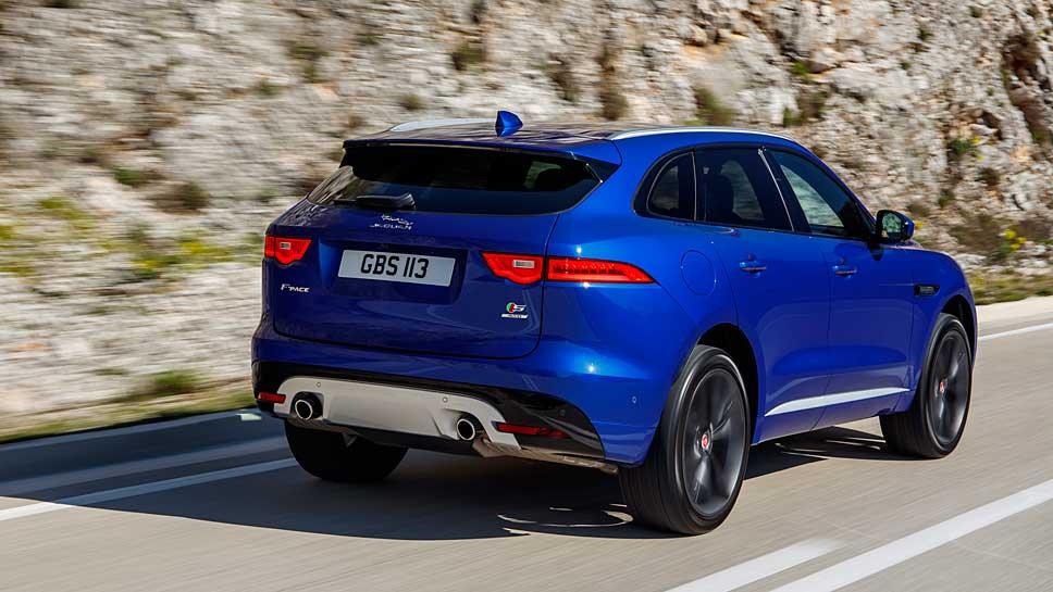 Der F-Pace von Jaguar überzeugt schon bei seiner Premiere