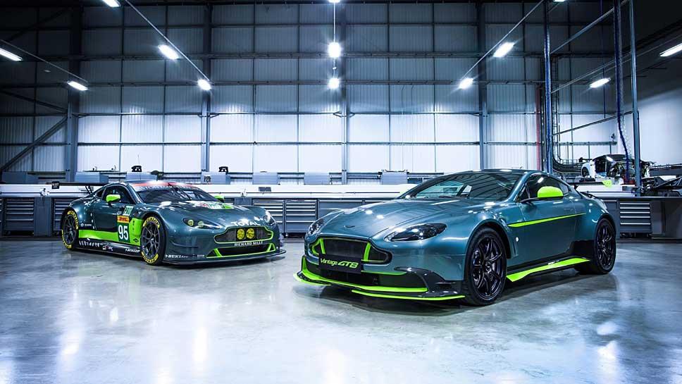 Die Aston Martin Vantage-Baureihe sagt mit dem GT8 Goodbye