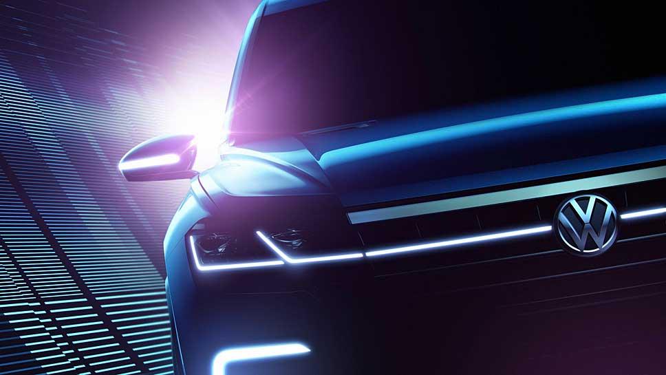 VW gibt einen ersten Ausblick auf den neuen Touareg