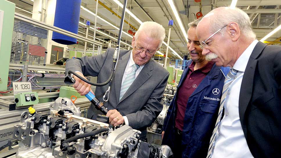 Winfried Kretschmann wird die Nähe zu Daimler angekreidet