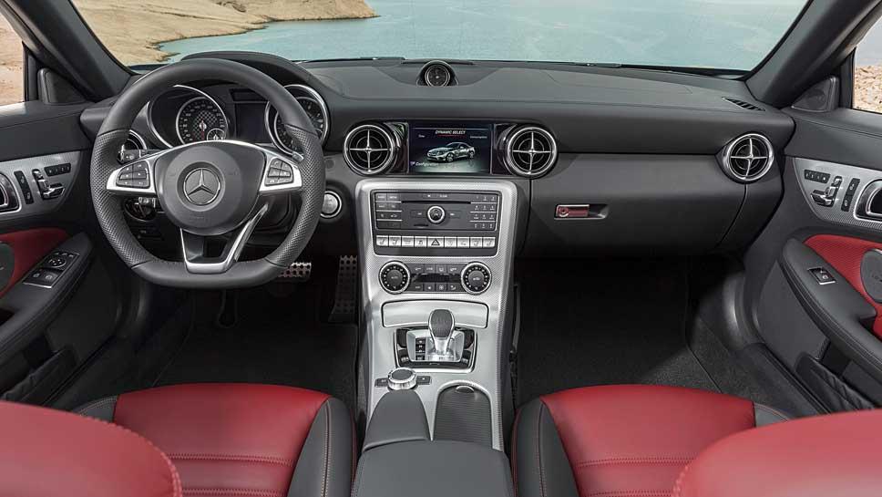Aus dem Mercedes SLK wurde der Mercedes SLC