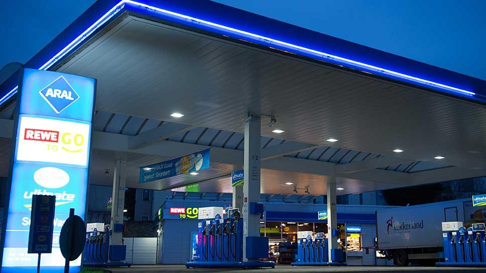 Die meisten Erdgas-Zapfsäulen können wieder angesteuert werden