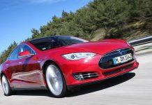 Das Modell S von Tesla.
