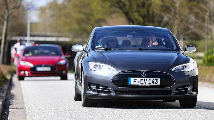 Das Model S von Tesla.