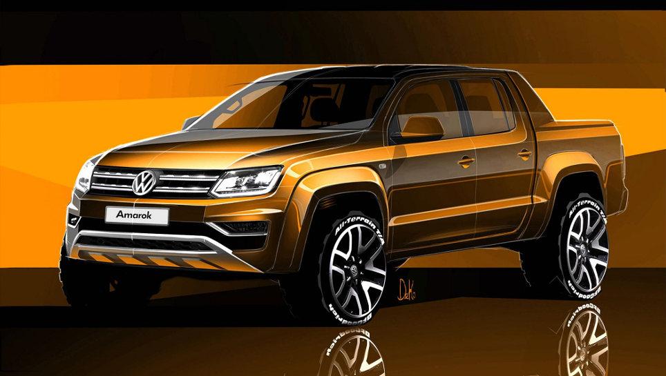 Der VW Amarok wird nach sechs Jahren aufgehübscht.