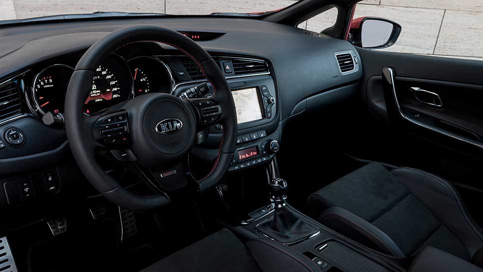 Der Kia Ceed GT greift auf 204 PS zurück.