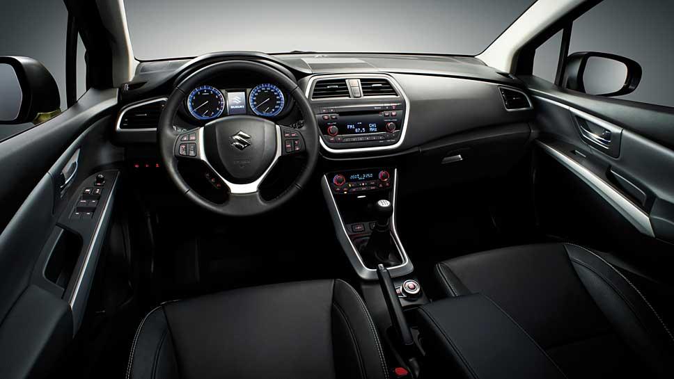 Der Suzuki SX4 S-Cross ist auch voll ausgestattet ein günstiges Fahrzeug