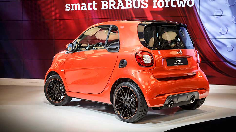 Der neue Smart von Brabus erhielt 109 PS.