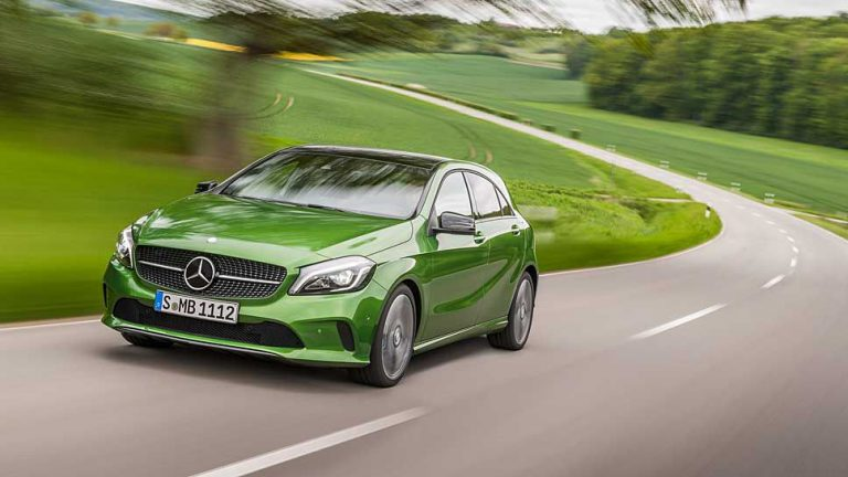 Mercedes A-Klasse: Kleine Rolle rückwärts