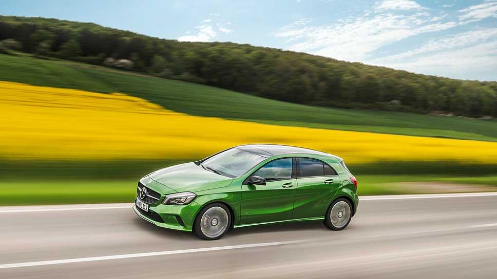Mercedes hat die A-Klasse kompatibler gestaltet.