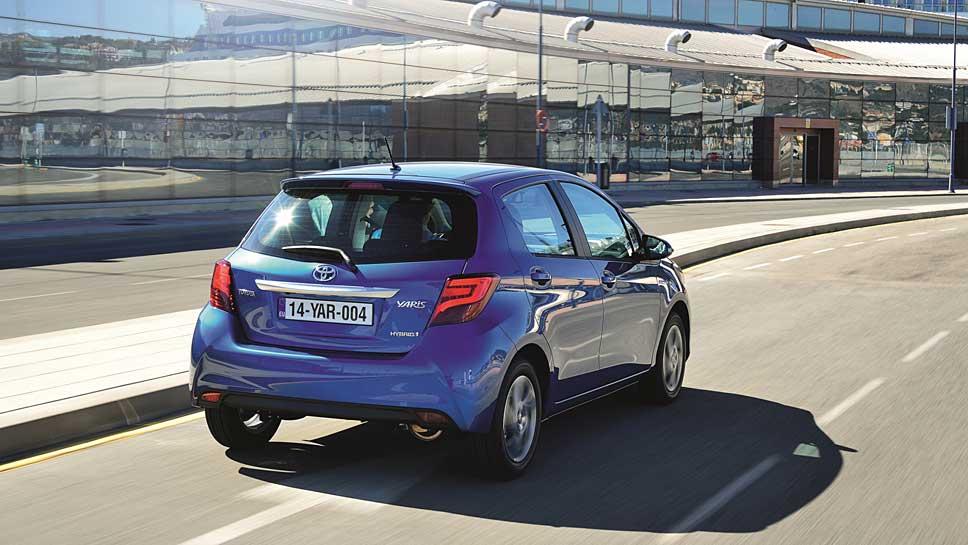 Der Toyota Yaris ist als Hybrid allein im Kleinwagensegment