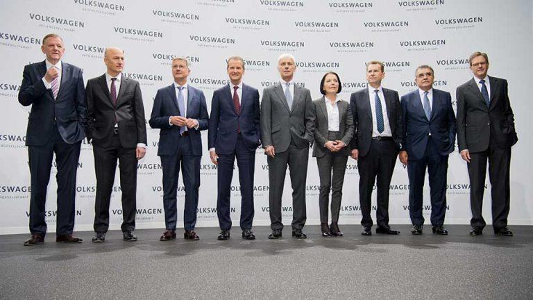 VW-Vorstände sollen entlastet werden
