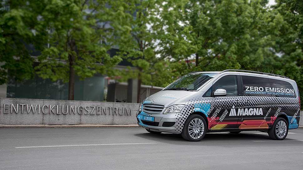 Magna präsentiert den Fuel Cell Range Extender