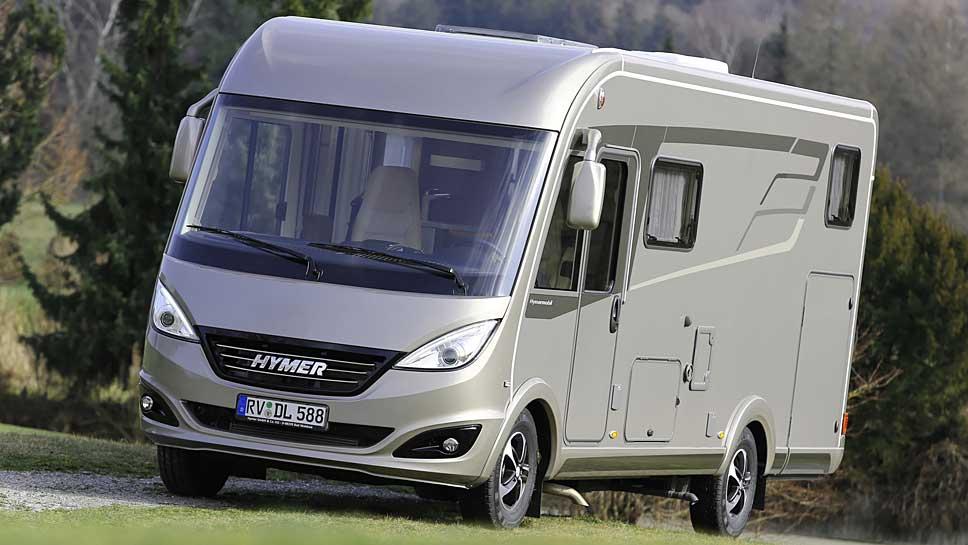 Wohnmobile wie die B-Klasse von Hymer besitzen einen hohen Wiederverkaufswert