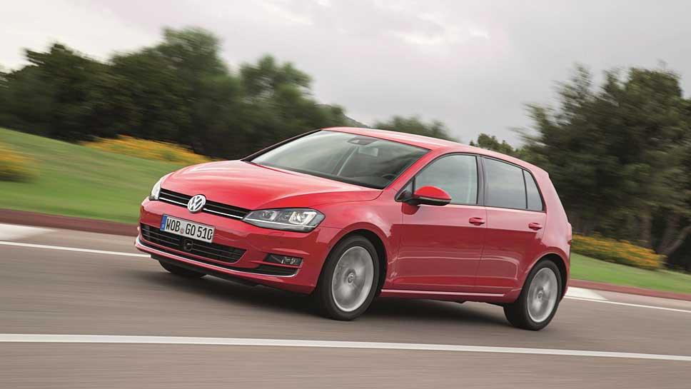 Der VW Golf könnte in China Probleme mit den Scheinwerfern bekommen
