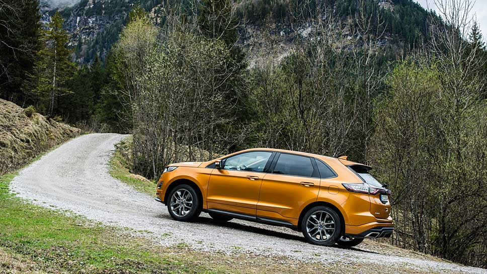 Ford installiert den Edge in Europa