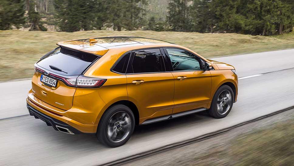 Auch der neue Ford Edge ist vom Rückruf betroffen
