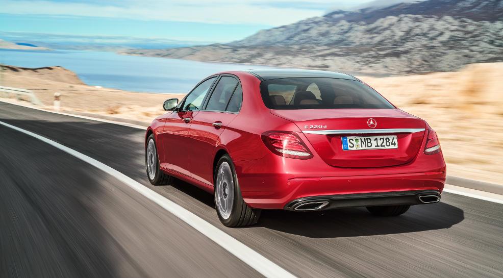 Die neue Mercedes E-Klasse kommt gut an
