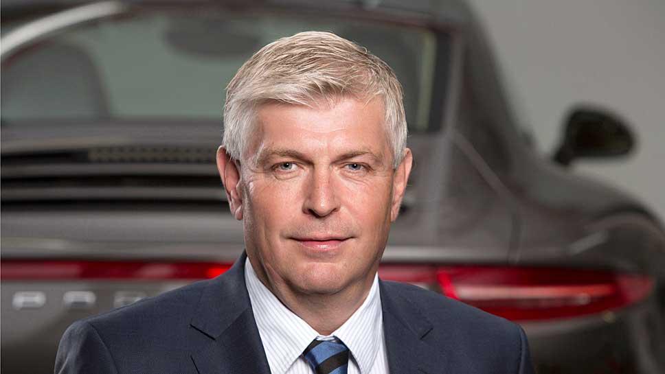 Eines Porsche Entwicklungschef Wolfgang Hatz.