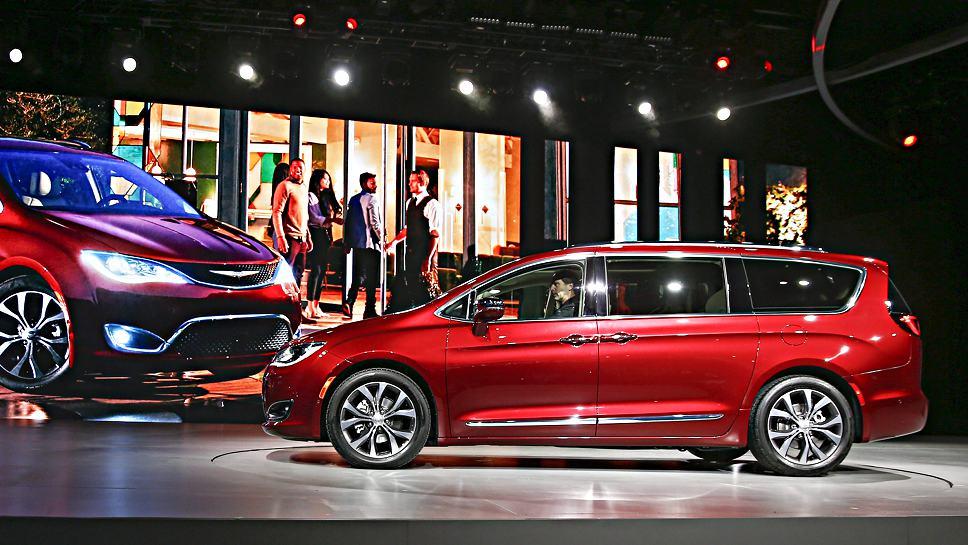 Der Chrysler Pacifika erhält Google-Technik