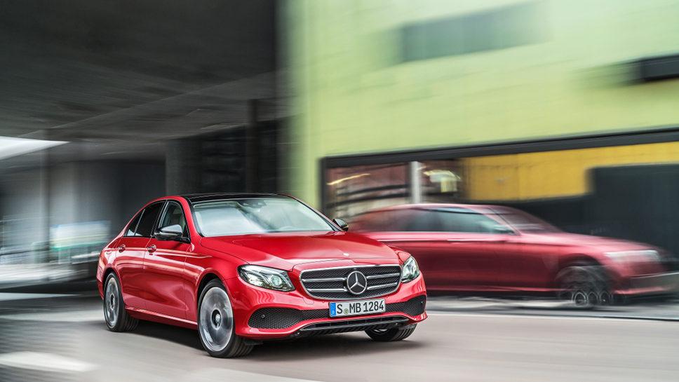 Die Mercedes E-Klasse hat in Nevada die Lizenz zum autonomen Fahren