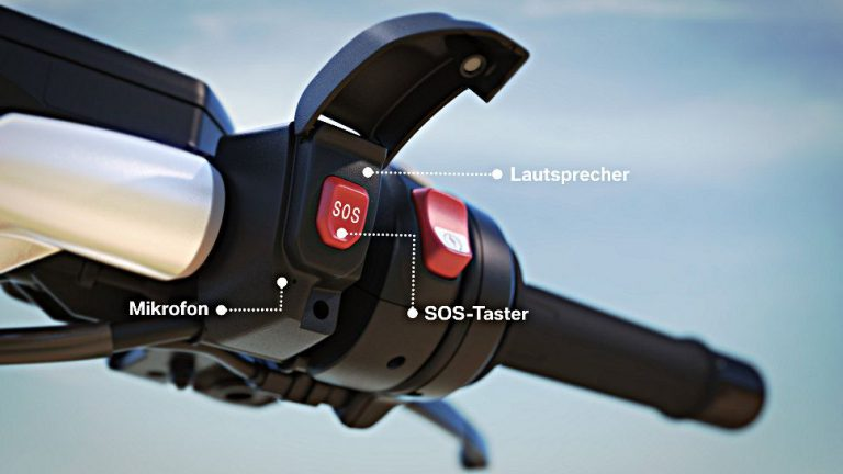 BMW Motorrad bietet ab 2017 eCall-System an