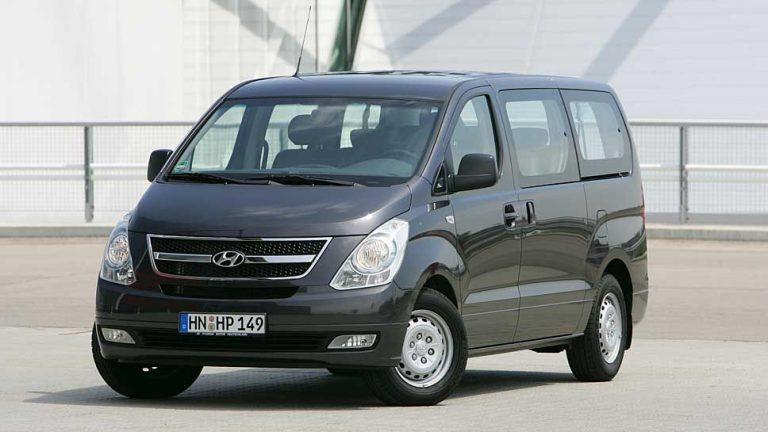 Hyundai H-1 Travel: Da scheppert nichts