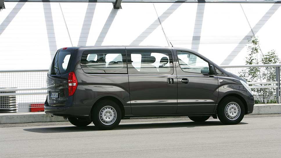 Der Hyundai H-1 Travel ist eine kostengünstige Bulli-Alternative