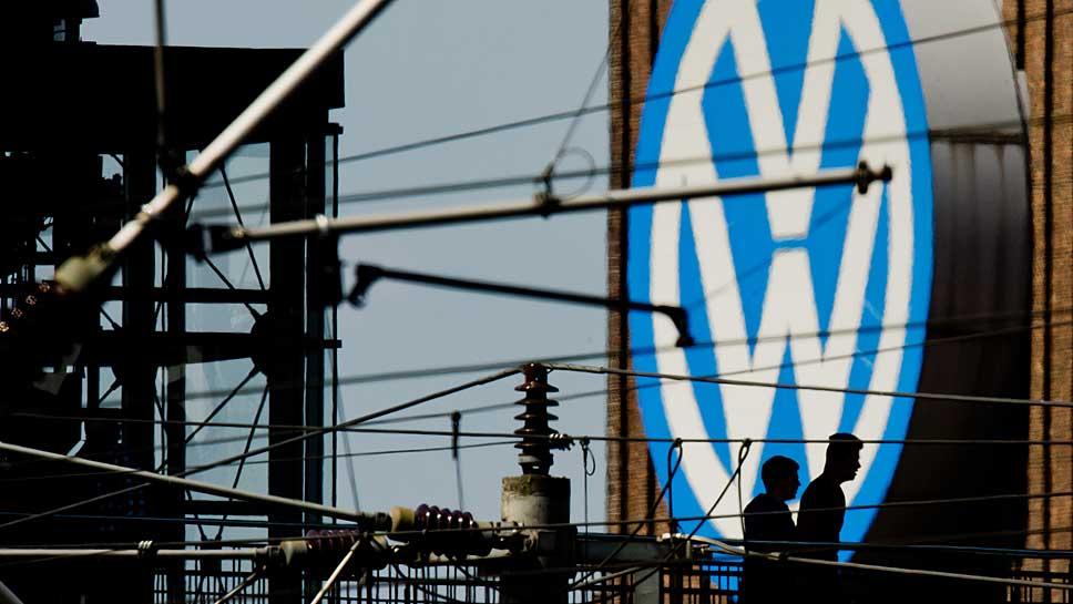 VW beendete das erste Halbjahr mit einem leichten Zuwachs.