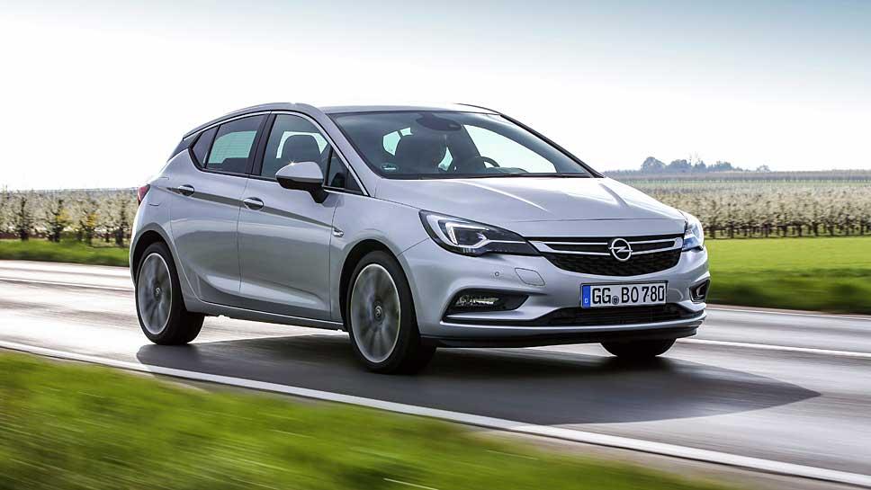 Der neue Opel Astra legte um 25 Prozent zu