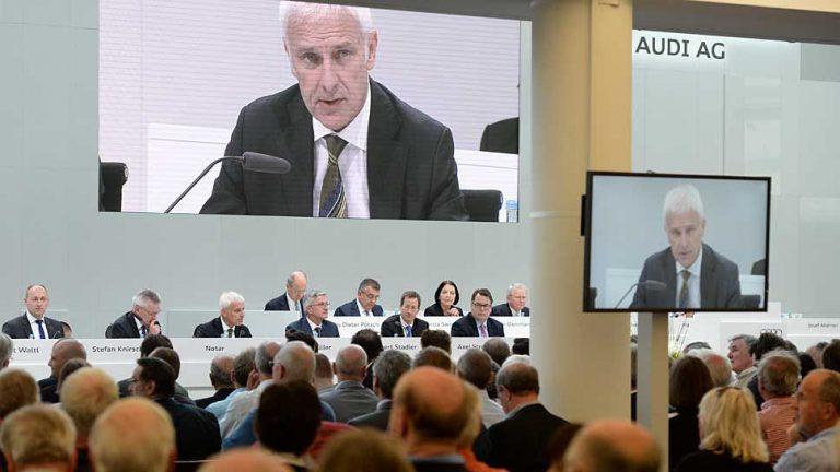 Audi-Anleger stoßen Bonuszahlungen sauer auf